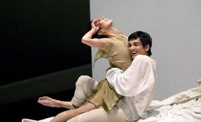 "<p><strong>PNB Company's Kaori Nakamura and James Moore in ""Roméo et Juliette."" Photo by Angela Sterling / Pacific Northwest Ballet</strong></p>