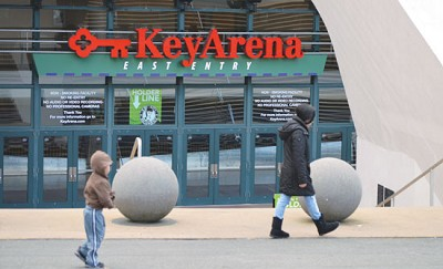 <p><strong>KeyArena would get much-needed improvements as an interim NBA arena. Plans are under way for a new SODO arena that would be home to an NBA franchise. Photo by Avneet Chattha. </strong></p>