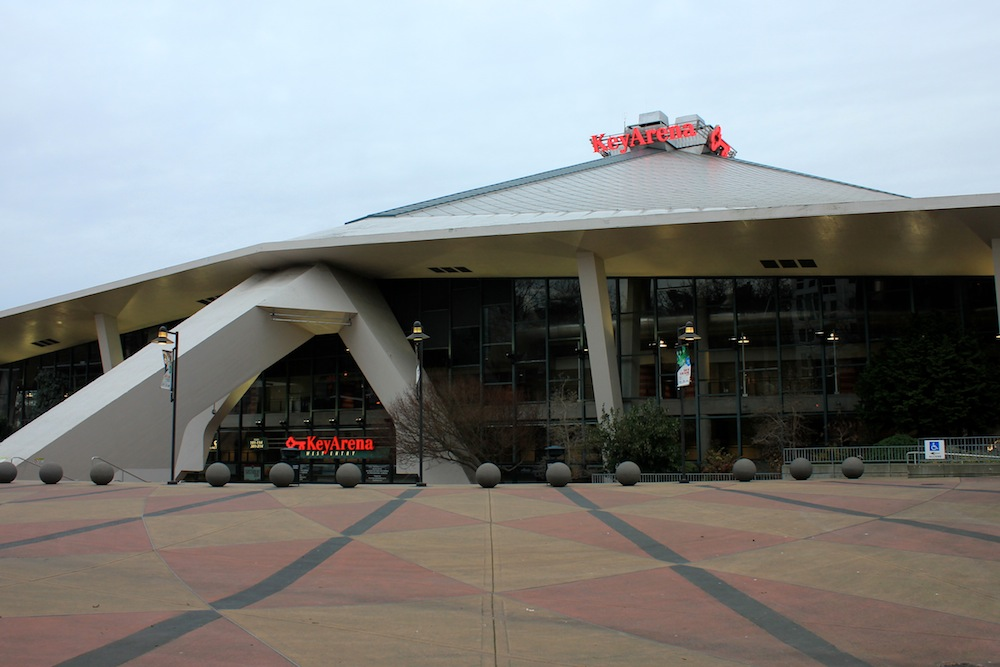 KeyArena is currently home to the WNBA's Seattle Storm, and Seattle University men's basketball. Photo by Joe Veyera