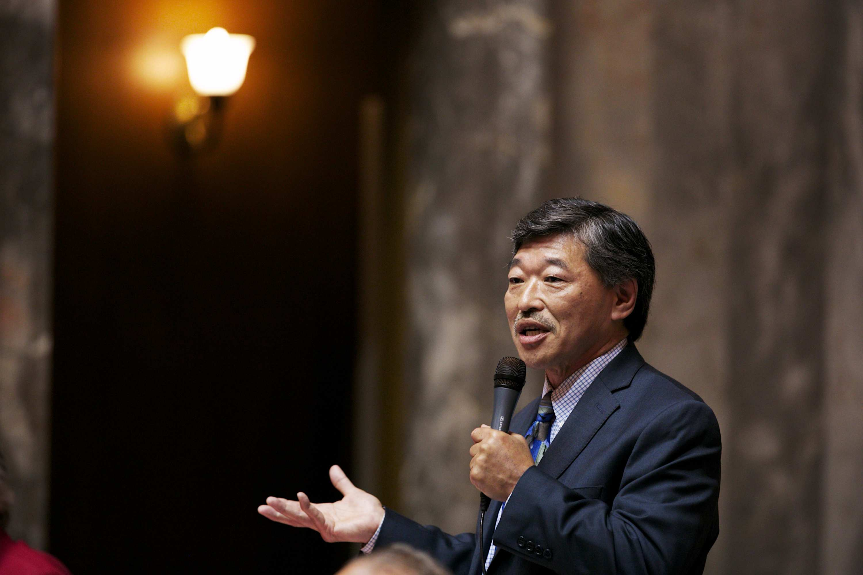 Bob Hasegawa has represented the 11th District since 2005, first in the state House of Representatives, and since 2012 in the state Senate. Photo courtesy of the Washington State Senate Democrats