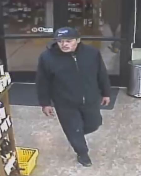 Seattle Police are seeking this man in connection with a pair of robberies in Uptown on Nov. 26.