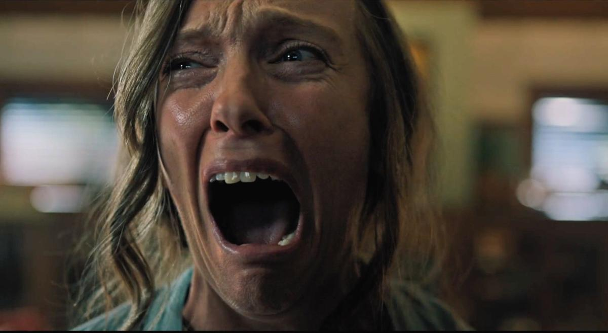 "Toni Collette in ""Hereditary."" (A24)"