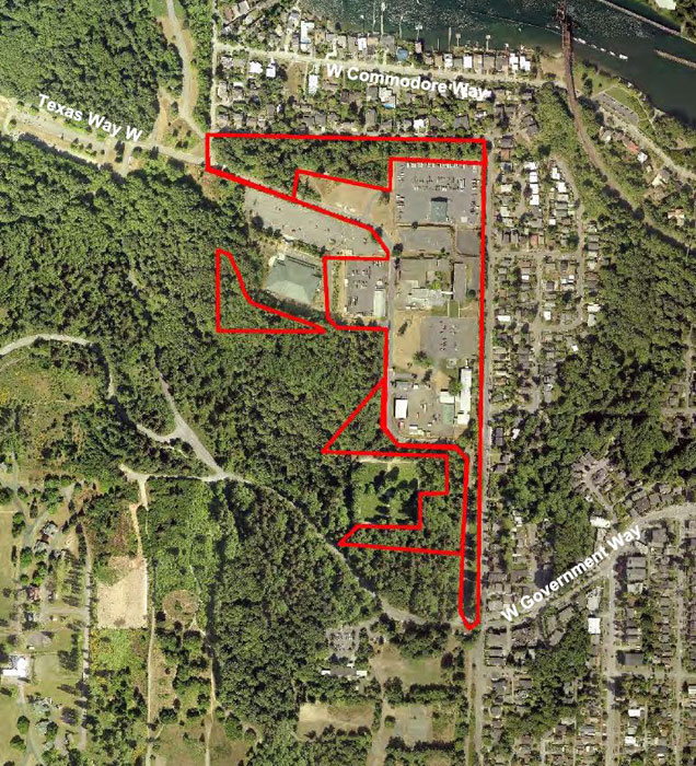 Image courtesy of the City of Seattle: There are currently nine properties on the former Fort Lawton site, which the City of Seattle wants to replace with affordable housing.