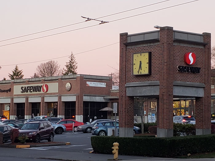 Photo by Brandon Macz: Plans to demolish the Queen Anne Safeway and build one double the size, and with hundreds of apartment units on top, are being refreshed with new developer barrientosRyan assigned to the project.