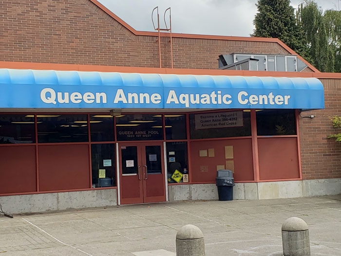 Photo by Brandon Macz: Seattle Parks and Recreation hopes to have the Queen Anne Pool open by the end of February.