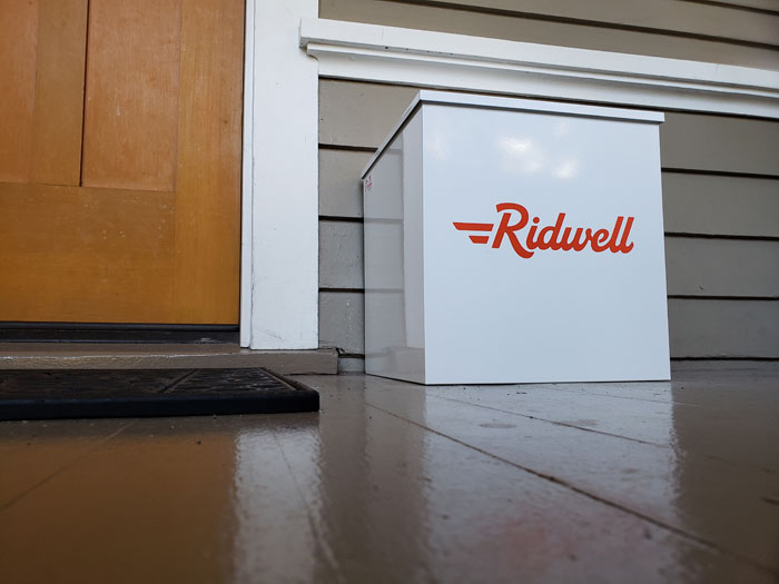 Photos by Brandon Macz: Ridwell is a member service that collects household items that tend to build up, but are neither easily recyclable nor donated and doing just that through a growing list of partnerships.