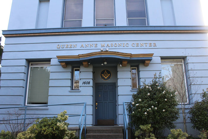 Photo by Brandon Macz: The Seattle Landmarks Preservation Board accepted the nomination of the Queen Anne Masonic Lodge building on Wednesday, April 17.