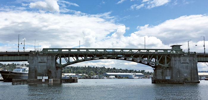 Photo courtesy of SDOT: The Seattle Department of Transportation has launched a survey to help it study what the future should be for the Ballard Bridge.