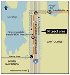 WSDOT plans new SR 520 to I-5 Express HOV connector