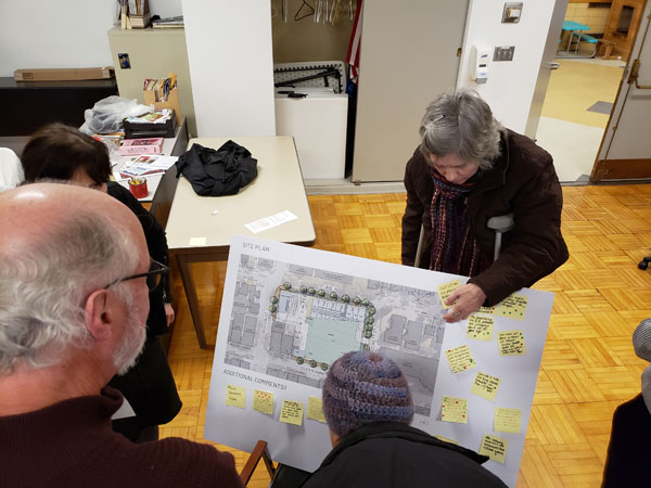 Photo by Brandon Macz: Designs for redeveloping the Queen Anne Safeway will be shared with the community in September. The last community open house was in March.