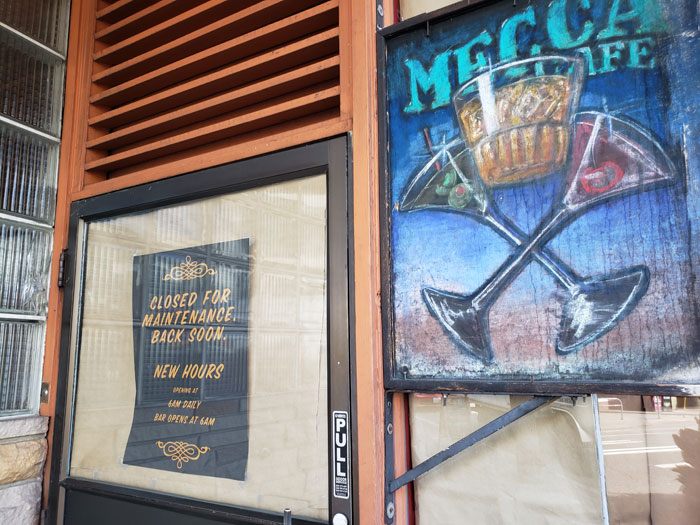 Photo by Brandon Macz: David Meinert plans to reopen Mecca Cafe in Lower Queen Anne within the next few days.
